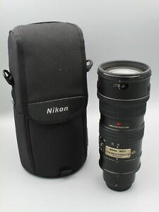 Nikon Zoom-NIKKOR 70-200mm f/2.8G ED-IF AF-S VR Telephoto Lens