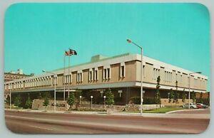 Grand Rapids Michigan~Press Plaza~Vanderberg Center~Vintage Postcard