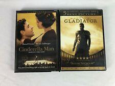 Russell Crowe DVD Lot: Cinderella Man, Gladiator