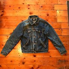 Paul Smith Jeans Small S Faded Classic Blue Denim Jacket Stonewash Casual