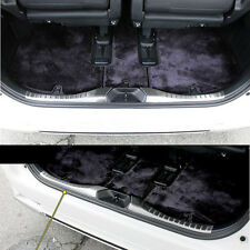 Stainless Steel Inner Luggage Scuff Trim For Toyota Vellfire Alphard 30 2015+