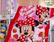 Minnie Mouse Plush Fleece Throw Blanket