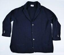 gilet veste déstructurée laine AVON Rose & Van Geluwe style breton XXL cardigan