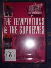 Ed Sullivan`s Rock 'n' Roll Classics THE TEMPTATIONS & THE SUPREMES FSK0 DVD NEU