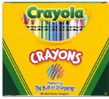 Crayola, 64 Count, Color Crayons With Crayon Sharpener