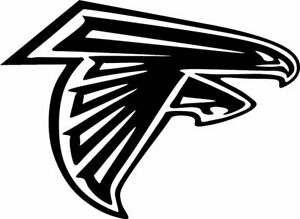 """Atlanta Falcons NFL Decal """"Sticker"""" for Car or Truck or Laptop"""