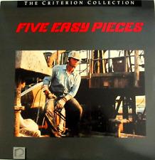 Five Easy Pieces: Criterion #81 (1970) Laserdisc LD Jack Nicholson
