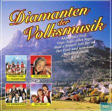 Diamanten der Volksmusik + CD + 16 stimmungsvolle volkstümliche Lieder + NEU +