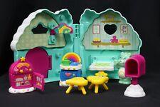 Vtg Care Bears Wish Bear's Care a Lot House Play Set Furniture Cloud Corner