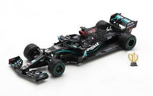 1:43 Spark S6488 Mercedes AMG W11, worldchampion, Turkish GP 2020, Hamilton #44