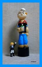 Popeye BUBBLE BATH 250 ml NEW RARE Plastic Figure KFS 1987 The sailor man