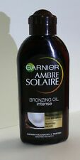 GARNIER AMBRE SOLAIRE SUN TANNING BRONZING OIL @ COCONUT SCENTED 200ml