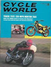 Cycle World Magazine December 1969- Honda SL350, Norton 750, Bridgestone 100 TMX