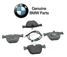 For BMW 535i GT 550i GT xDrive 10-17 Rear Disc Brake Pad Set & Sensor Genuine