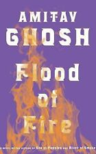 Flood of Fire by Amitav Ghosh (English) Compact Disc Audio Book            A54