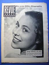 REVUE Nr.42 / 1952 *ZEITSCHRIFT*SEXUALVERBRECHER*KOREA KRIEG*HITLER*KALTER KRIEG