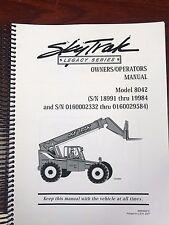 heavy equipment manuals books for skytrak ebay rh ebay ca