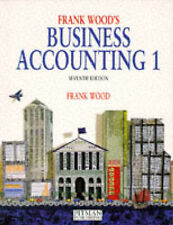 Business Accounting: v. 1, Frank Wood, Used; Good Book