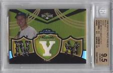 2006 Topps Triple Threads MICKEY MANTLE Relics Gold /9 *Yankees* BGS 9.5