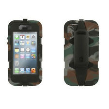 GRIFFIN SURVIVOR MILITARY TESTED CASE FOR IPHONE 5 ARMY GREEN CAMOFLAGE GB35789