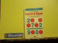 ART 6.272 LIBRO I GIOCHI DI NATALE DI JOSEPH E LENORE SCOTT 1984