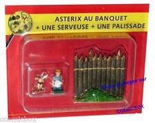 Le VILLAGE d'ASTERIX n° 54 figurine banquet GAULOIS Atlas PLASTOY figure serie