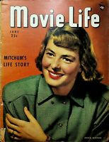 Movie Life Magazine June 1948 Ingrid Bergman Hedy Lamarr Humphrey Bogart