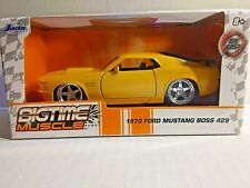Bigtime Muscle 1970 Ford Mustang Boss 429 Jada Yellow Diecast 1:32 Scale Boys