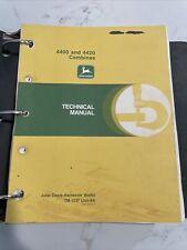 John Deere 4400 Amp 4420 Combine Technical Manual