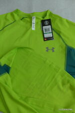 Nwt Under Armour CoolSwitch Upf50+ Trail Short Sleeve Shirt 1271491-324 Large