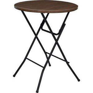 Mainstays 31 Inches Round Folding Table - 555890901