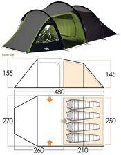 Tenda da campeggio 4 posti VANGO Beta 450