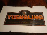 """Yuengling America's Oldest Brewery Beer Eagle Embossed aluminum Sign 35"""".5x17"""".5"""