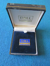 More details for vintage enamel badge - dml devonport - devonport management limited - boxed