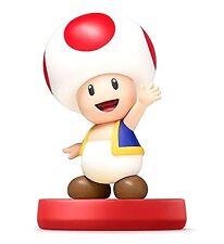 * Toad Super Smash Bros Brothers SSB Mario Amiibo☄️ Wii U Switch 👾