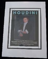 Houdini Advertising Proof - Only 3 Produced - Two Have Sold