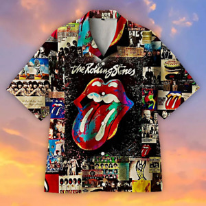 1962 - The Rolling Stones A Classic - Hawaiian-Shirt-of-an-era Full Size S-5XL