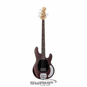 Sterling S.U.B Series Ray4 B Bass Guitar - Walnut Satin