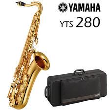 Yamaha YTS-280 Tenor Saxophone   Gold Lacquer   2018 Model