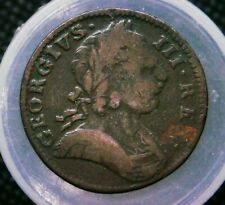 1775 Great Britain UK Farthing Coin  #1
