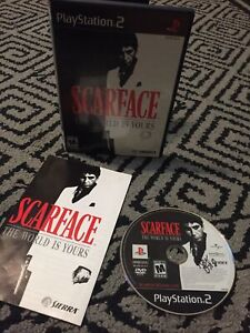 scarface the world is yours ps2 Great shape Played And Works