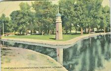 Three Rivers MI The Light House, Conservation Park 1947