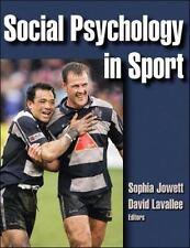 Social Psychology in Sport by Sophia Jowett
