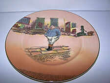 Vintage Royal Doulton Dickens The Fat Boy Vintage Collector Plate Retired 1951