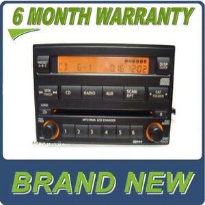 NEW 05 06 07 NISSAN Pathfinder XTERRA FRONTIER Radio 6 Disc CD Changer Player