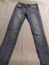 Damen Stretch Knitter Jeans, Lexxury, Gr. 34, blau