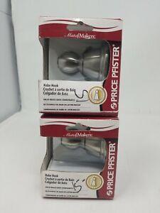 Lot of 2 Robe Hook BRH-B0CB Brand New in box Price Pfister Chrome (m