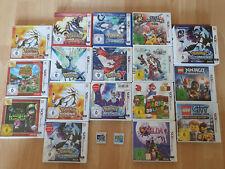 Nintendo 3DS Spiele (Pokemon X, Sonne, Mond, etc. Zelda, Mario, Lego, Smash)