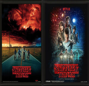 3D Lenticular Poster Moving Picture Stranger Things Netflix The Upside Down UK
