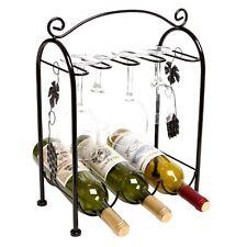 Glass Countertop Wine Racks Bottle Holders Ebay